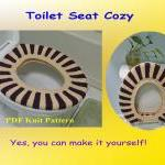 Knit Pattern - Toilet Seat..