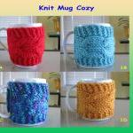 Knit Cup Cozy, Knit Mug Co..