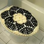 Crochet Toilet Seat Cover ..