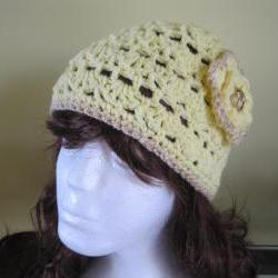 Crochet Hat - Yellow (h9